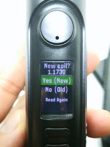 IMG 20180717 113940 thumb - 【レビュー】「Lost Vape Mirage DNA75C Resin Box Mod」レビュー。Evolv DNA75カラー(DNA75C)搭載機!カラーだしレジンだし。