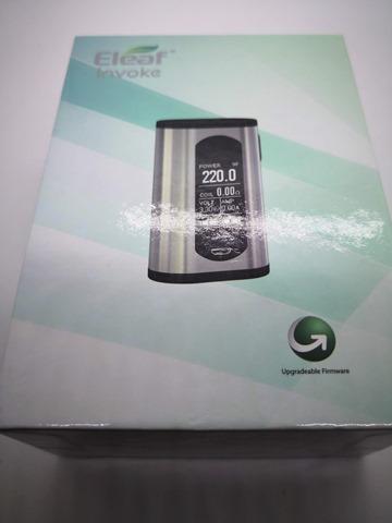IMG 20180724 182906 thumb - 【レビュー】「Eleaf Invoke 220W TC/VW BOX MOD」レビュー。最小&最軽量&最強級でトリプルに強いデュアルバッテリーMOD!?