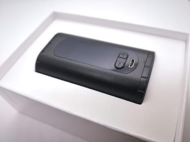 IMG 20180724 182916 - 【レビュー】「Eleaf Invoke 220W TC/VW BOX MOD」レビュー。最小&最軽量&最強級でトリプルに強いデュアルバッテリーMOD!?