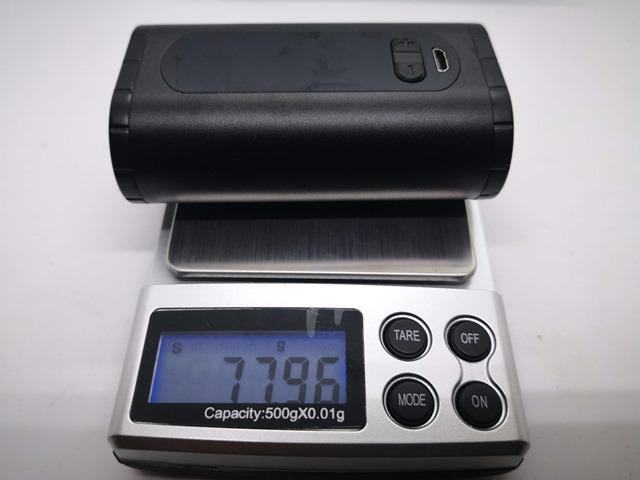 IMG 20180724 183021 thumb - 【レビュー】「Eleaf Invoke 220W TC/VW BOX MOD」レビュー。最小&最軽量&最強級でトリプルに強いデュアルバッテリーMOD!?