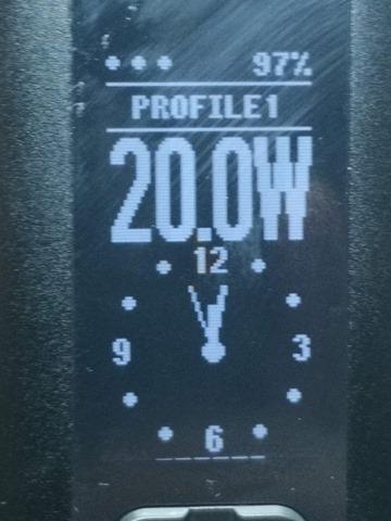 IMG 20180724 192721 thumb - 【レビュー】「Eleaf Invoke 220W TC/VW BOX MOD」レビュー。最小&最軽量&最強級でトリプルに強いデュアルバッテリーMOD!?