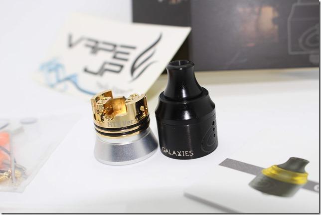 IMG 3072 thumb - 【レビュー】Vapefly GALAXIES MTL RDA 『HORICK TV Japan Limited Edition』(Black)(ベイプフライ ギャラクシーズ MTL RDA ホリックTV ジャパンリミテッド・エディション 22mm) 真っ黒でラグジュアリーに変貌した名作MTL