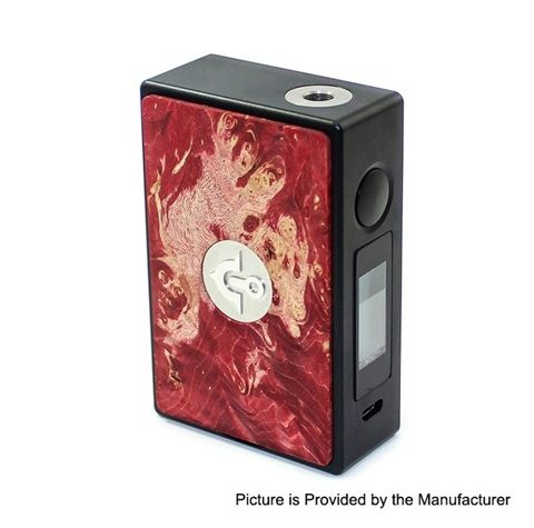 authentic asmodus eos 180w touch screen tc vw variable wattage box mod red aluminum stabilized wood 5200w 2 x 18650 thumb 480x475 - 【海外】「Asmodus EOS 180W」「Asmodus Helve V1.5」「Uxinuo Mzster Roshizoo 200W TC VW APV Box Mod」