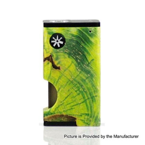authentic asmodus luna 80w squonk box mod black mosaic aluminum stabilized wood 1 x 18650 6ml 1 thumb - 【海外】「Eleaf Saurobox 220W」「Vandy Vape Pyro V2 RDTA」「Geekvape Creed RTA」「Asmodus Luna 80W Squonk Box Mod」