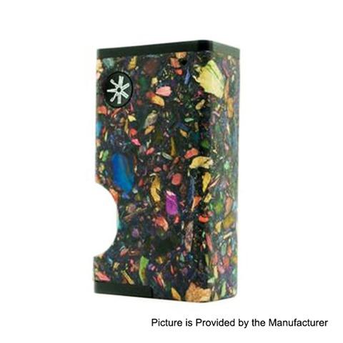 authentic asmodus luna 80w squonk box mod black mosaic aluminum stabilized wood 1 x 18650 6ml thumb - 【海外】「Eleaf Saurobox 220W」「Vandy Vape Pyro V2 RDTA」「Geekvape Creed RTA」「Asmodus Luna 80W Squonk Box Mod」