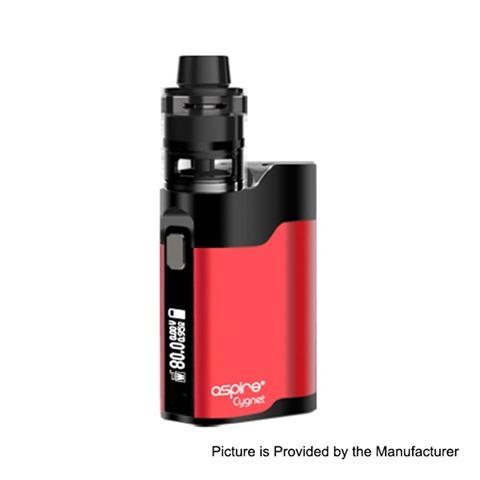 authentic aspire cygnet 80w vw variable wattage box mod revvo mini tank kit red black 180w 1 x 18650 2ml thumb - 【海外】「Eleaf Saurobox 220W」「Vandy Vape Pyro V2 RDTA」「Geekvape Creed RTA」「Asmodus Luna 80W Squonk Box Mod」