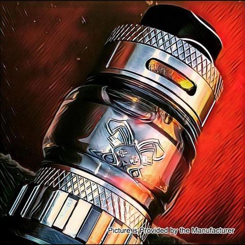 authentic hellvape dead rabbit rta rebuildable tank atomizer silver thumb - 【海外】「Eleaf Saurobox 220W」「Vandy Vape Pyro V2 RDTA」「Geekvape Creed RTA」「Asmodus Luna 80W Squonk Box Mod」