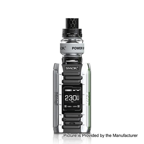 authentic smoktech smok e priv 230w tc vw variable wattage mod tfv12 prince tank kit black silver 1230w 2 x 18650 8ml thumb - 【海外】「G-TASTE E-juice 10ml (8pcs)」「VAPORLIFE E-JUICE 10ml(6本)日本仕様」「YSTAR Beethoven RTA」