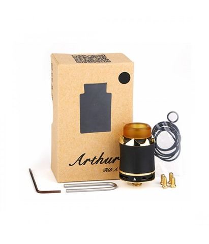 cool vapor arthur rda 2 thumb - 【海外】「Eleaf Saurobox 220W」「Vandy Vape Pyro V2 RDTA」「Geekvape Creed RTA」「Asmodus Luna 80W Squonk Box Mod」