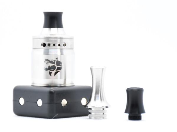 oDSC 3783 - 【レビュー】(甘くないフレーバー特化型)タバコ系リキッドの味を爆発的に向上させる魔法のようなRDAはコレだ!Ammit MTL RDA by Geekvape