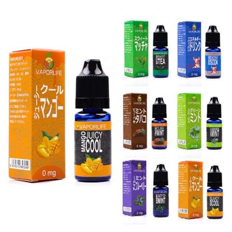 vaporlife e juice 1 thumb 1 - 【レビュー】VAPORLIFE 「キューバミントタバコ」「スウィートマッチャ」「リフレッシュエネルギードリンク」リキッドレビュー。【Everzonオリジナルリキッド】