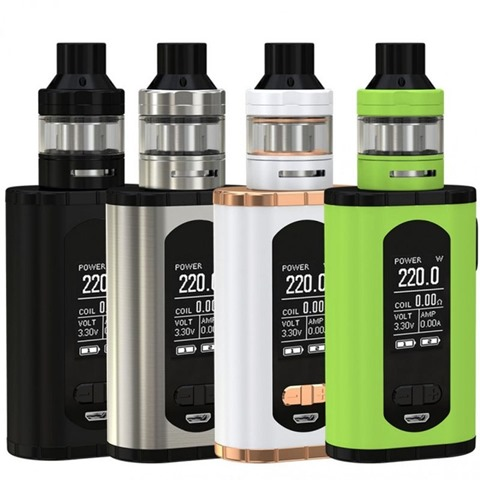 Eleaf Invoke 220W Electronic Cigarette Vape Kit Dual 18650 Battery Box Mod With Ello T Vaporizer 640x640 thumb - 【GIVEAWAY】Mowell Shake AIO Podキット、Eleaf Invoke MOD KIT/Invoke MODが当たるMODギブアウェイ!【Sourcemore/Vape】