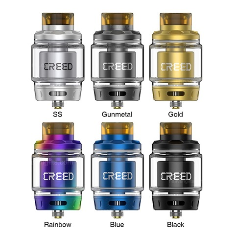 GeekVape Creed RTA 65ml 005045be6cb6 thumb - 【海外】「Eleaf iWu 15W 700mAh Pod System Starter Kit」「Geekvape Creed RTA」「Huawei Honor Magicbookラップトップ」「中華SSD」など