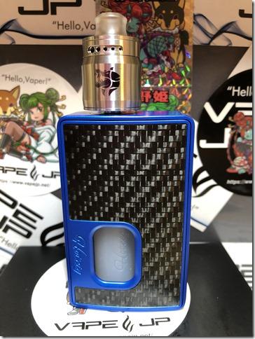 IMG 0720 thumb - 【レビュー】Geek Vape Ammit MTL RDA(ギークベイプ アメミット マウス・トゥー・ラング)×Hotcig RSQ(ホットシグ)ブラック テクニカルスコンカーデビューセット~最強セット爆誕(*´Д`*)編~