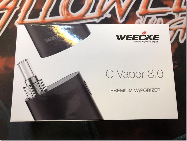 IMG 0879 thumb - 【レビュー】WEECKE C VAPOR 3.0(ウィーキー シー ベイパー)レビュー~最近人気のヴェポライザーの実力はいかに(ΦдΦ)編~
