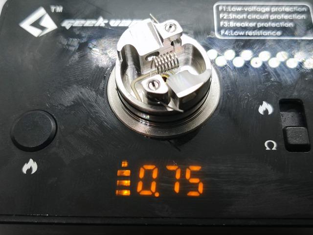 IMG 20180808 205533 thumb - 【レビュー】「HOTCIG RSQ NSキット」ロゴなしバージョンでシンプルになったのRDAとセットになったHOTCIGの決定版スコンカーキット!【日本限定版】