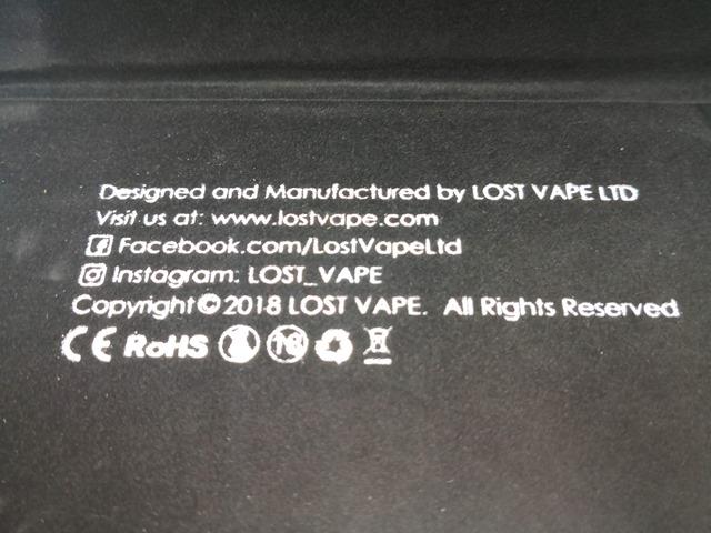 IMG 20180825 072629 thumb - 【レビュー】「LOST VAPE TRIADE DNA250C 300W BOX MOD」Evolv DNA 250Cカラー基板搭載の最強・最大BOX MOD。横綱ヘビー級チャンピオンに僕もなりたい。