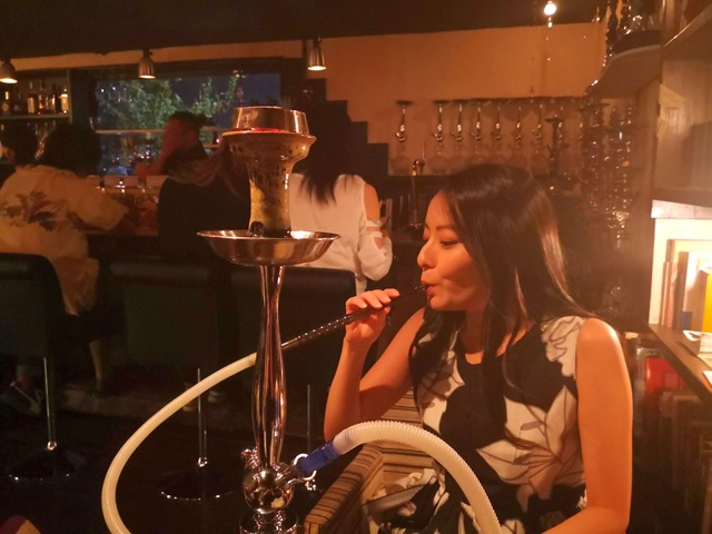 IMG 20180829 213153 thumb - 【レビュー】女子とFUMARIの「ブルーベリーバニラアイス風味」フレーバーレビュー。シーシャBAR煙-en-さんに行ってきた