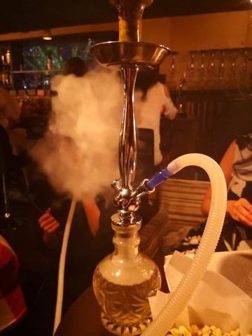 IMG 20180829 213425 thumb - 【レビュー】女子とFUMARIの「ブルーベリーバニラアイス風味」フレーバーレビュー。シーシャBAR煙-en-さんに行ってきた