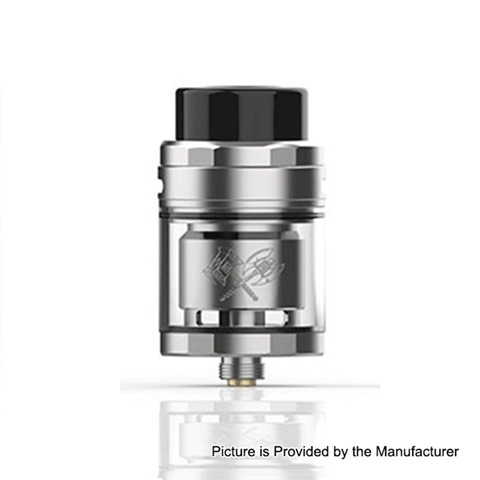 authentic acevape mk rta rebuildable tank atomizer silver stainless steel 5ml 25mm diameter thumb - 【海外】「asMODus Oni Edition 80W 2800mAh VW Mod Kit」「asMODus Lustro 200W TC VW APV Box Mod」「Cool Vapor MGTK RDA」
