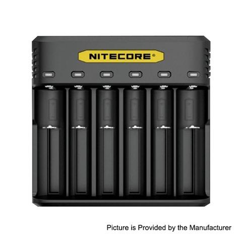 authentic nitecore q6 2a 6 slots battery charger for 18650 20700 21700 battery black pc 6 x battery slots thumb - 【海外】「Lost Vape Triade 300W DNA250C TC Box Mod」「VGME DPS75 80W」「Joyetech EXCEED NC 2300mAh E-Cigarette Starter Kit」「Augvape Intake RTA」