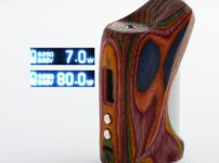 authentic vgme dps75 80w tc vw variable wattage box mod random color rainbow tone reconstituted wood 780w 1 x 18650 thumb 202x150 - 【海外】「Lost Vape Triade 300W DNA250C TC Box Mod」「VGME DPS75 80W」「Joyetech EXCEED NC 2300mAh E-Cigarette Starter Kit」「Augvape Intake RTA」