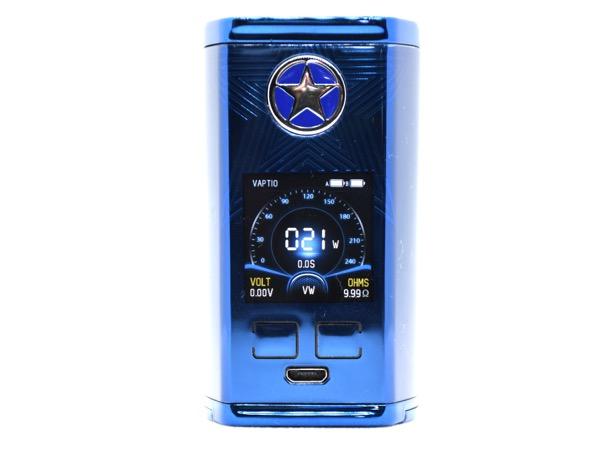 oDSC 4549 - 【レビュー】アメリカンでめっちゃカッコいい!嬉しくて叫び出しちゃうかも、、な☆☆☆スターターキットCapt'n 220W Kit by VAPTIO