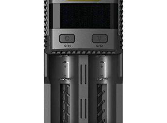 41oqRxN0dAL thumb 343x254 - 【レビュー】「Nitecore Superb Charger SC2」バッテリーチャージャーレビュー。最大3Aの2スロット充電器!少し大きいが携帯して旅行にも持っていける。