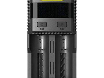 41oqRxN0dAL thumb 400x300 - 【レビュー】「Nitecore Superb Charger SC2」バッテリーチャージャーレビュー。最大3Aの2スロット充電器!少し大きいが携帯して旅行にも持っていける。