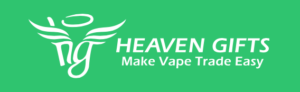 HEAVEN GIFTS logo qwertgh 300x92 - 【レビュー】質感イヤッホゥゥゥな《極細身の》スターターキットVigo Starter Kit by VapeOnly