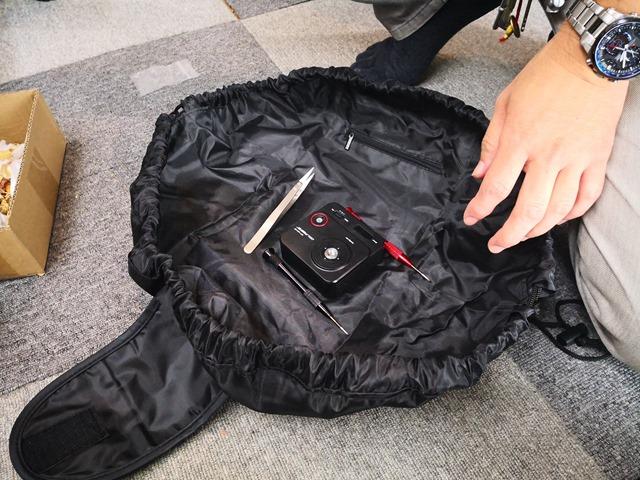 IMG 20180911 140827 thumb - 【訪問日記】たまに行くならこんなOne Case(ワンケース)夏の終わりに残暑訪問。煙の出ないヴェポライザー、新作Layzer Crewリキッドがうみゃい。メカニカルスイッチ、便利なVAPEポーチ、激安1000円フルHDアクションカム、車載用Nitecore充電器など