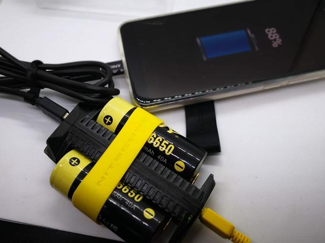 IMG 20180926 140514 thumb 1 - 【レビュー】NITECORE F2 Flex 2-Port Outdoor Charger with USB Ports(ナイトコアエフツー)レビュー。USB充放電可能&持ち運び可能&入れ替え可能なモバイルバッテリー。アウトドアや旅行に