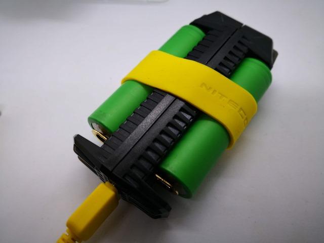 IMG 20180926 140830 thumb - 【レビュー】NITECORE F2 Flex 2-Port Outdoor Charger with USB Ports(ナイトコアエフツー)レビュー。USB充放電可能&持ち運び可能&入れ替え可能なモバイルバッテリー。アウトドアや旅行に