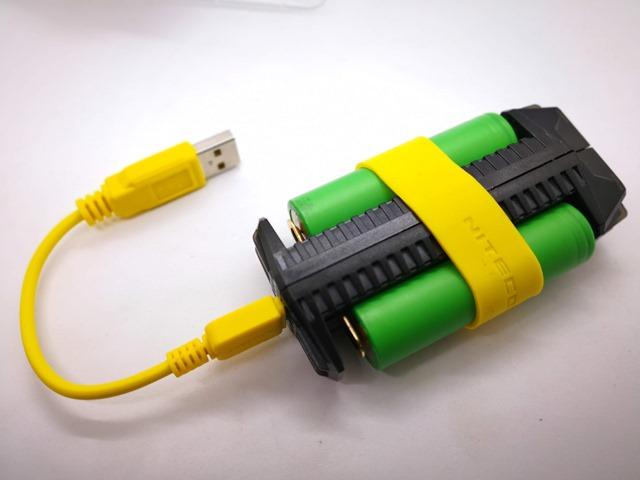 IMG 20180926 140836 thumb - 【レビュー】NITECORE F2 Flex 2-Port Outdoor Charger with USB Ports(ナイトコアエフツー)レビュー。USB充放電可能&持ち運び可能&入れ替え可能なモバイルバッテリー。アウトドアや旅行に