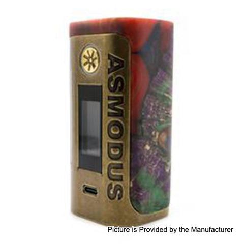 authentic asmodus lustro 200w touch screen tc vw variable wattage box mod kodama edition red 5200w 2 x 18650 thumb - 【海外】「OBS Cube 80W 3000mAh」「Asmodus Lustro 200Wタッチ液晶」「AFK STUDIO EASY ONE EDA RDA」「Geekvape Alphaサブオームクリアロ」