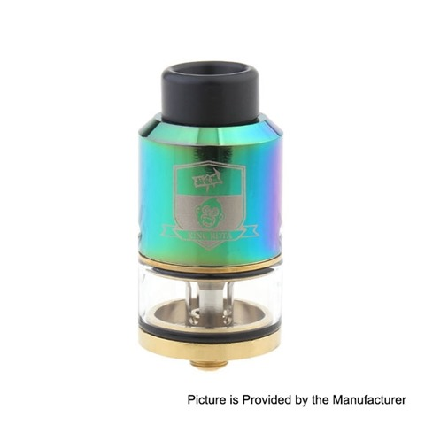 authentic coil father king rdta rebuildable dripping tank atomizer rainbow stainless steel brass 35ml 25mm diameter thumb - 【海外】「Advken Twirl RDA」「Advken Notch RDA」「Coil Father King RDTA」「HYSTOU FMP05B Quad-Core Mini PC (128GB/US)」