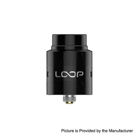 authentic geekvape loop v15 rda rebuildable dripping atomizer w bf pin black stainless steel 24mm diameter thumb - 【海外】「GeekVape Loop V1.5 RDA」「Augvape V200W」「Hugo Vapor Submarine 850mAh」「Vaptio Spin It Mini 15W 500mAh Pod System Starter Kit」