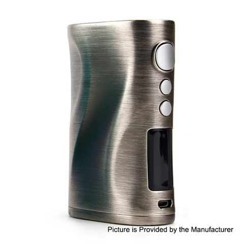 authentic nikola medea 218w tc vw variable wattage box mod gun metal zinc alloy 7218w 2 x 18650 thumb - 【海外】「LiitoKala Lii-402 Battery Smart Charger」 「Aleader Caesar 100W Stable Wood Box Mod」「IQOS Leather Case」「Joyetech Ego AIO Mansion kit 1300mAh」