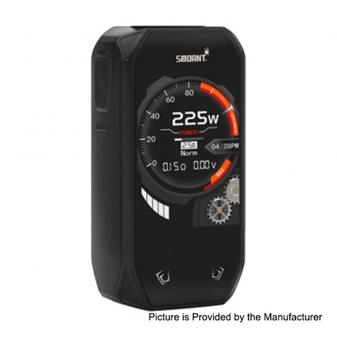 authentic smoant naboo 225w tc vw variable wattage box mod black 1225w 2 x 18650 thumb - 【海外】 「Smoant CAMPBEL 80W Kit」「Vandy Vape Phobia V2 RDA」「X-Air Liquid」「Uwell Hypercar 80W TC VW Variable Wattage Box Mod + Whirl Sub Ohm Tank Kit」