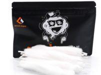 geekvape feather pre loaded cotton 2 thumb 202x150 - 【レビュー】「Geekvape Featherコットン」レビュー。Geekvape新開発の羽のようなふわふわコットン。ビルド超しやすいコスパ〇