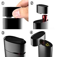 mibLzbfKTDSN. UX300 TTW thumb - 【レビュー】kingtons Oval スターターキット 電子タバコ ヴェポライザーレビュー。一体型ヴェポライザーで操作カンタン&味濃厚!【コンベクション/バッテリー内蔵】