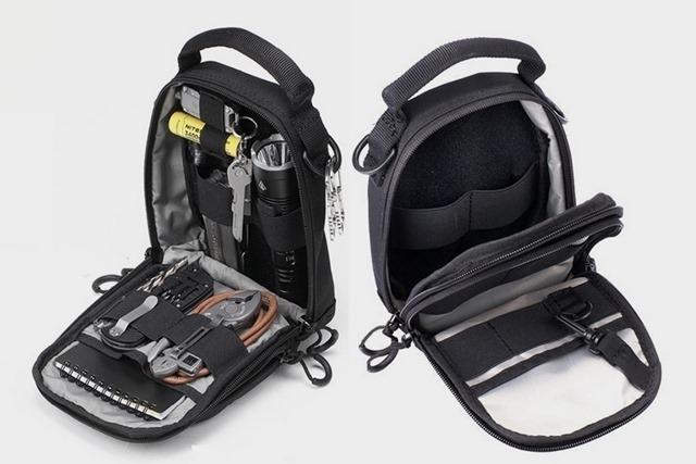 nitecore ndp10 daily pouch 2 thumb - 【レビュー】Nitecore NDP10 Tactical Pouch(ナイトコアエヌディーピーテンタクティカルポーチ)レビュー。バッテリーと充電器、VAPEを一緒に持っていけるやつ!