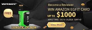 300X100 - 【PR】最大$1000分のAmazonギフトカードが当たる!《LUXOTIC DF BOX レビューコンテスト》Wismecさんの太っ腹!
