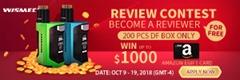 300X100 thumb - 【PR】話題の「WISMEC LUXOTIC DF BOX」(ウィズメックルクソーティックDF)レビューコンテストで1000ドルを当てよう