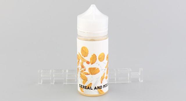 9661080 2 thumb - 【レビュー】「Cereal and Milk(シリアルアンドミルク)」「Raspberry Lemonade(ラスベリーレモネード)」Xespirit E-liquidより大容量リキッド2種レビュー。