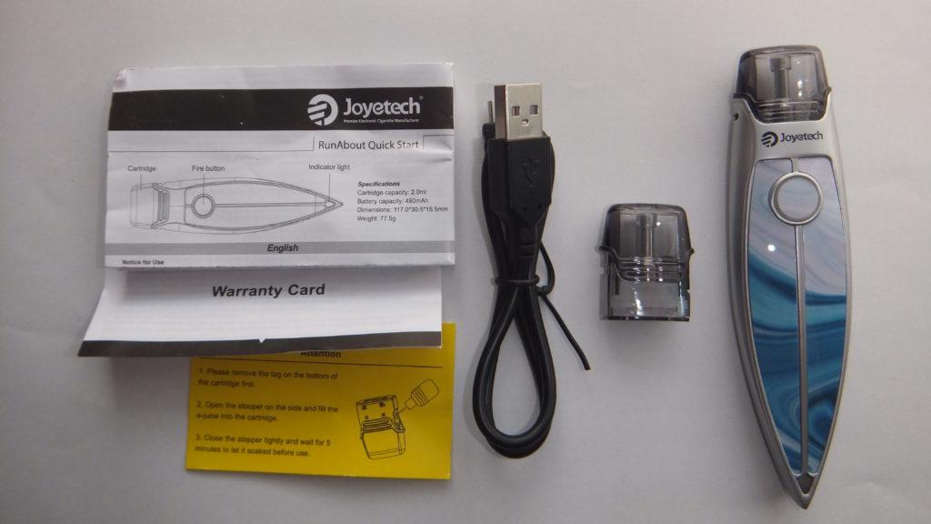 DSCF1186 e1539497278732 1024x576 - 【レビュー】Joyetech RunAbout(ジョイテックランナバウト)開封レビュー。Joyetechから新しいPOD型デバイスが出たので、早速使ってみた!【VAPE】