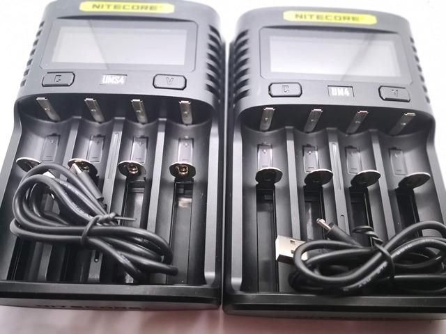 IMG 20181026 010619 thumb - 【レビュー】Nitecore UM2/UMS2/UM4/UMS4バッテリーチャージャー(充電器)レビュー。最大3A急速充電対応ナイトコアの普及価格帯コスパ充電器。リチウムマンガンバッテリー最強