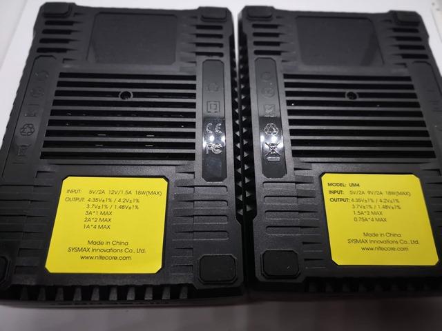 IMG 20181026 010633 thumb - 【レビュー】Nitecore UM2/UMS2/UM4/UMS4バッテリーチャージャー(充電器)レビュー。最大3A急速充電対応ナイトコアの普及価格帯コスパ充電器。リチウムマンガンバッテリー最強