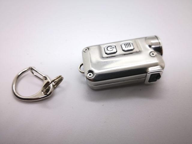 IMG 20181029 214645 thumb - 【レビュー】「NITECORE TINI SS GLACIER USB Rechargeable LED キーライト」重たさったの15g!ナイトコア・ティニグレーシア。携帯型ライトとして便利な充電式ガジェット!