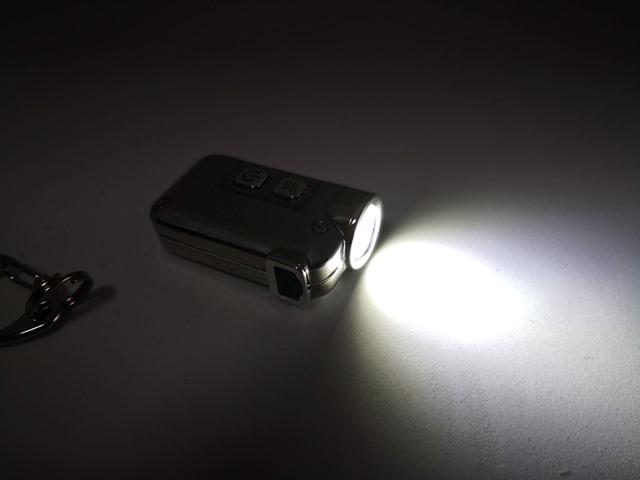 IMG 20181029 214725 thumb - 【レビュー】「NITECORE TINI SS GLACIER USB Rechargeable LED キーライト」重たさったの15g!ナイトコア・ティニグレーシア。携帯型ライトとして便利な充電式ガジェット!